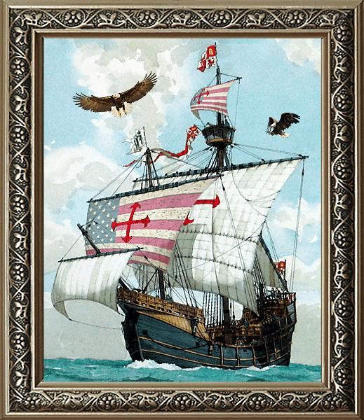 America & Columbus